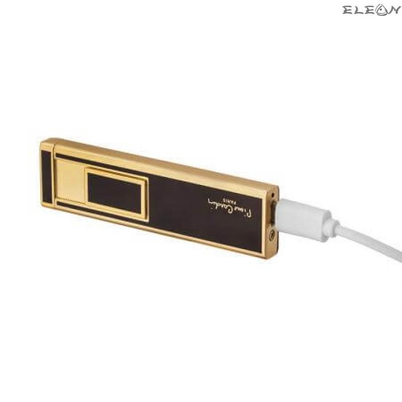 Електрическа запалка, USB зареждане, златно с черно