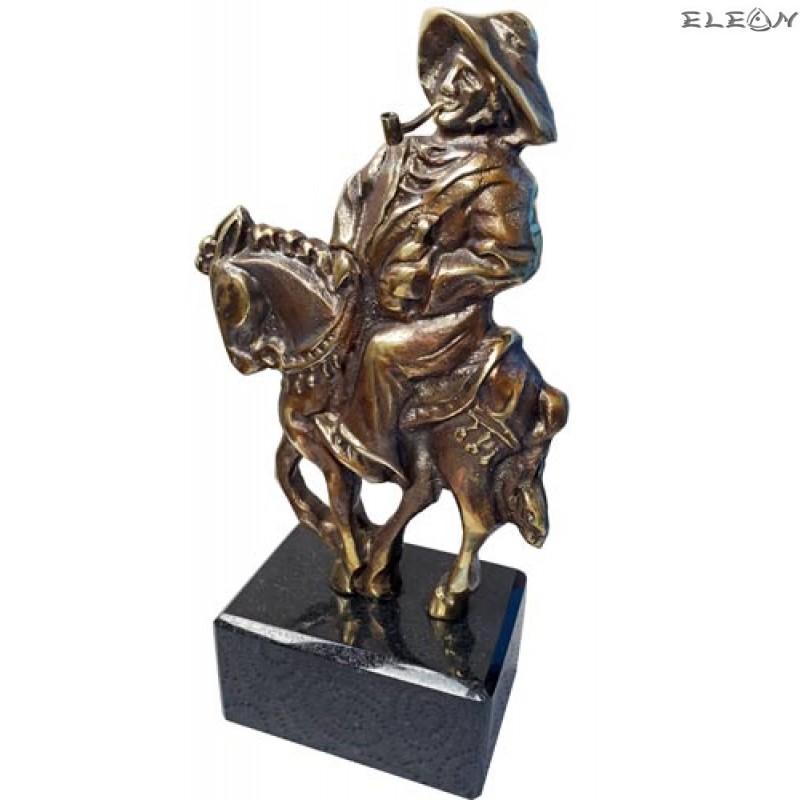 Статуетка от месинг  121 - Санчо Панса 21см