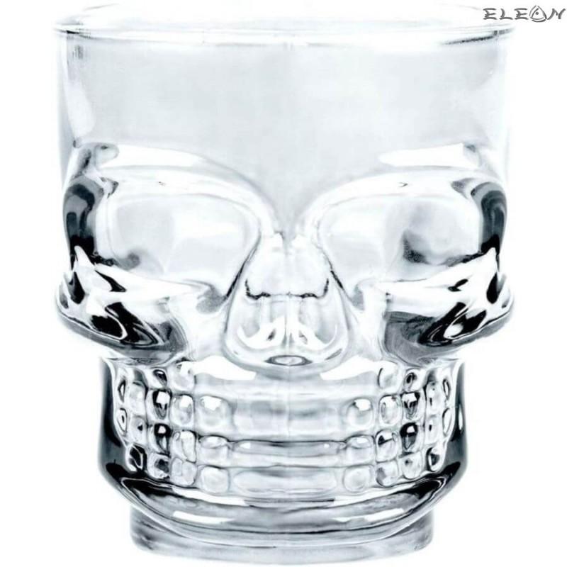 Парти чаши за шотове с формата на череп - 4 броя