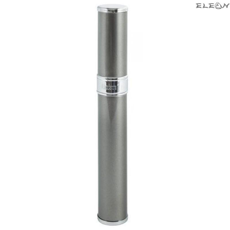 Луксозен метален цилиндър за 1 пура HADSON - сив 010944