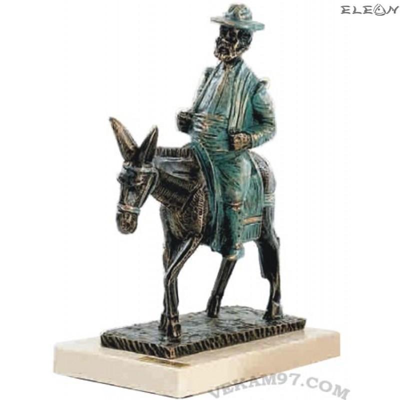 Статуетка САНЧО ПАНСА на магаре