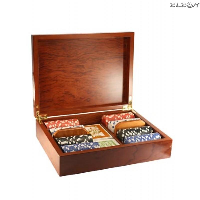 Луксозен ПОКЕР сет от 200 чипа - 8604025