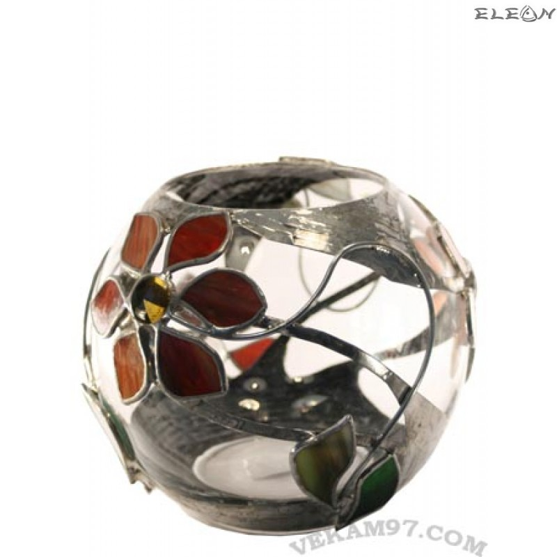 Ваза топка със седеф - 234121