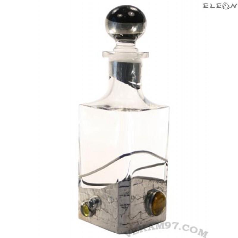 шише за УИСКИ с декорация от седеф - 500P