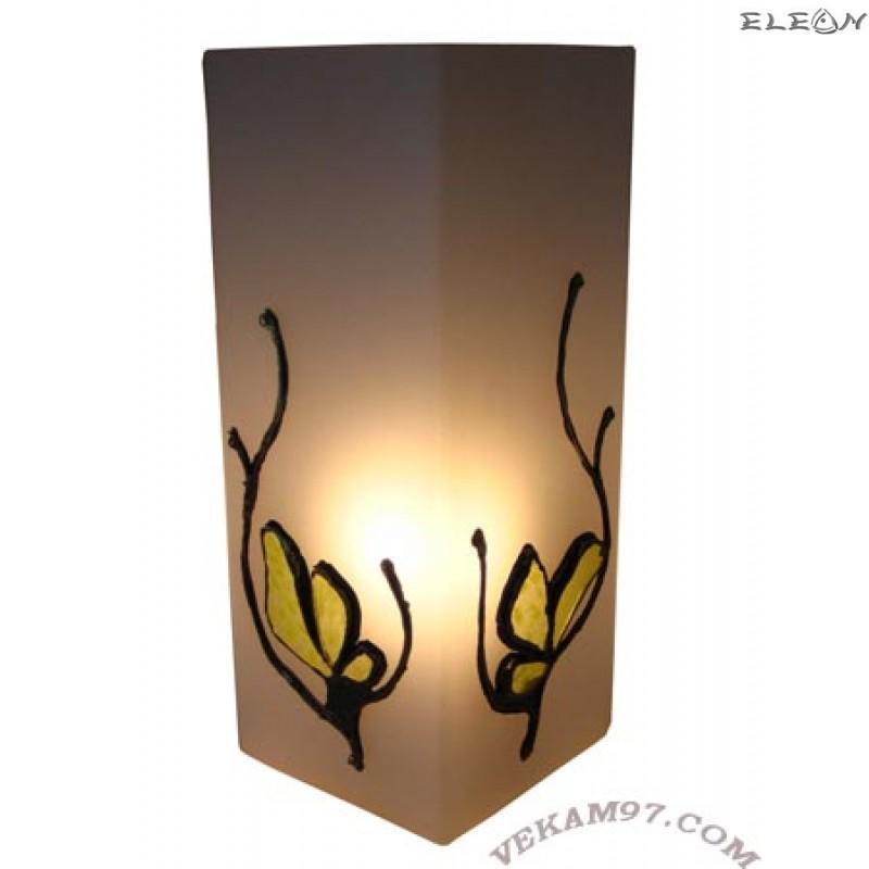 Настолна нощна ЛАМПА ръчно декорирана - LA01351