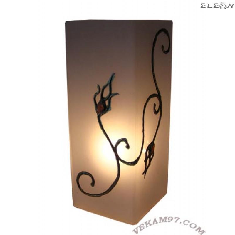 Настолна нощна ЛАМПА ръчно декорирана - LA01352