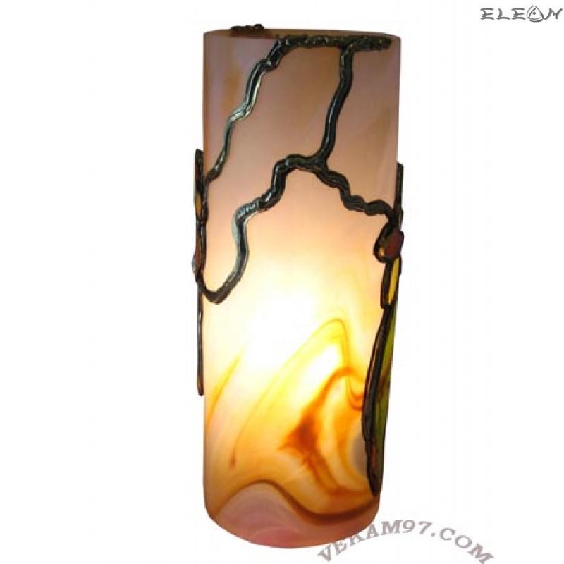 Настолна нощна ЛАМПА ръчно декорирана - LA02301