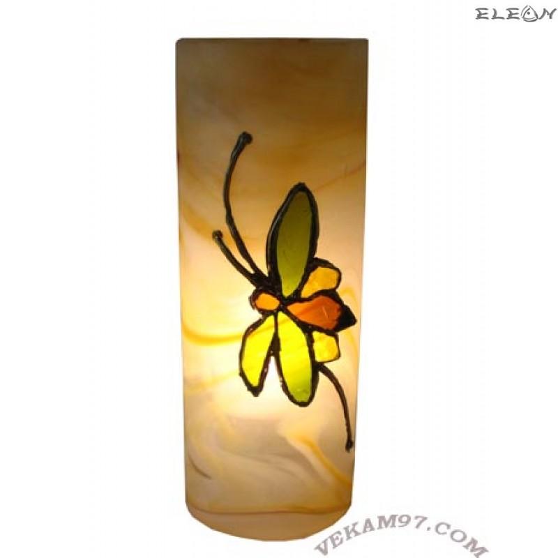 Настолна нощна ЛАМПА ръчно декорирана - LA02303