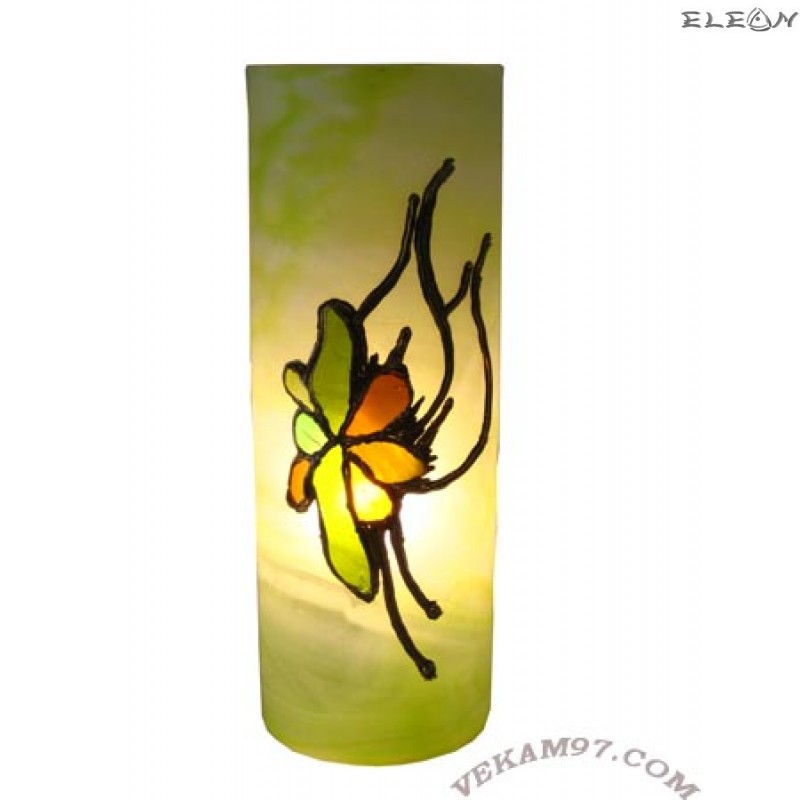 Настолна нощна ЛАМПА ръчно декорирана - LA02305