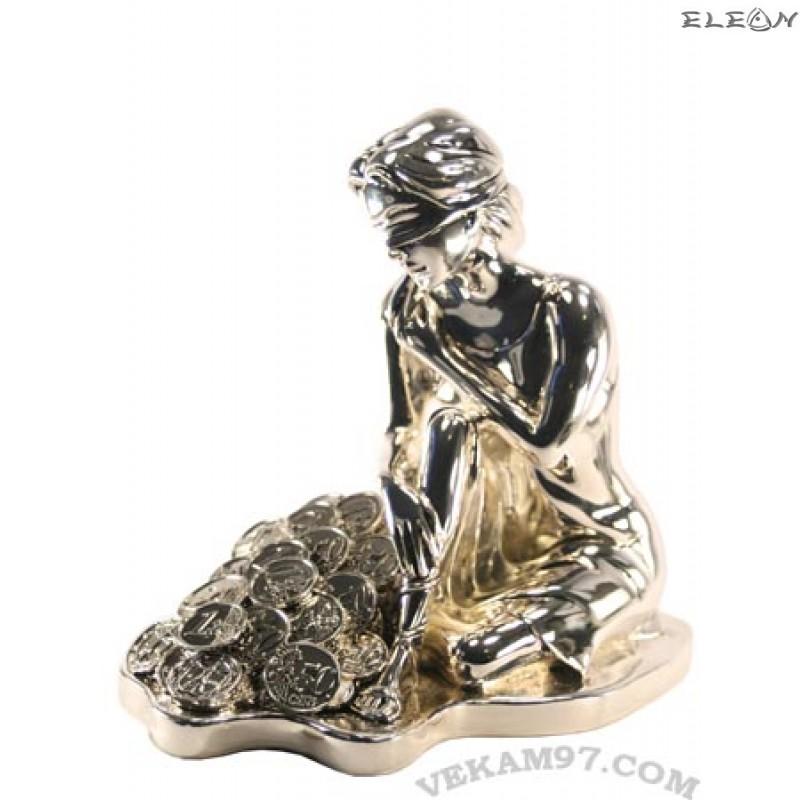 Сребърна статуетка - ФОРТУНА 342800