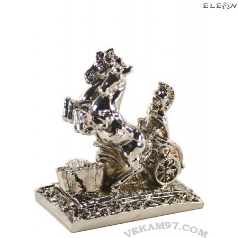 Сребърна фигурка - КОЛЕСНИЦА римска 380001
