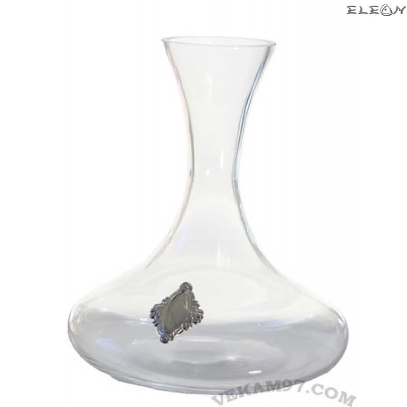 Декантер със сребърни орнаменти - 9081