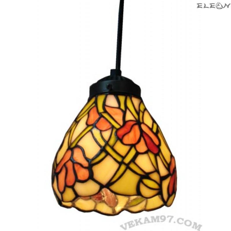 Висяща лампа в стил Тифани - лампа за хол TIFFANY 518b