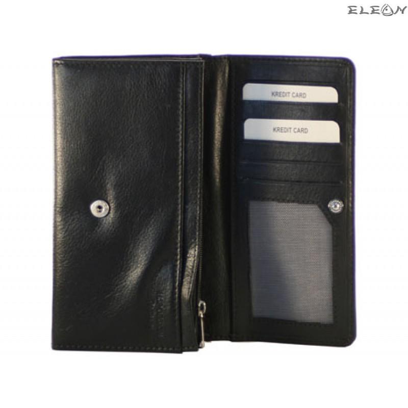 Дамски портфейл от естествена кожа - 372201