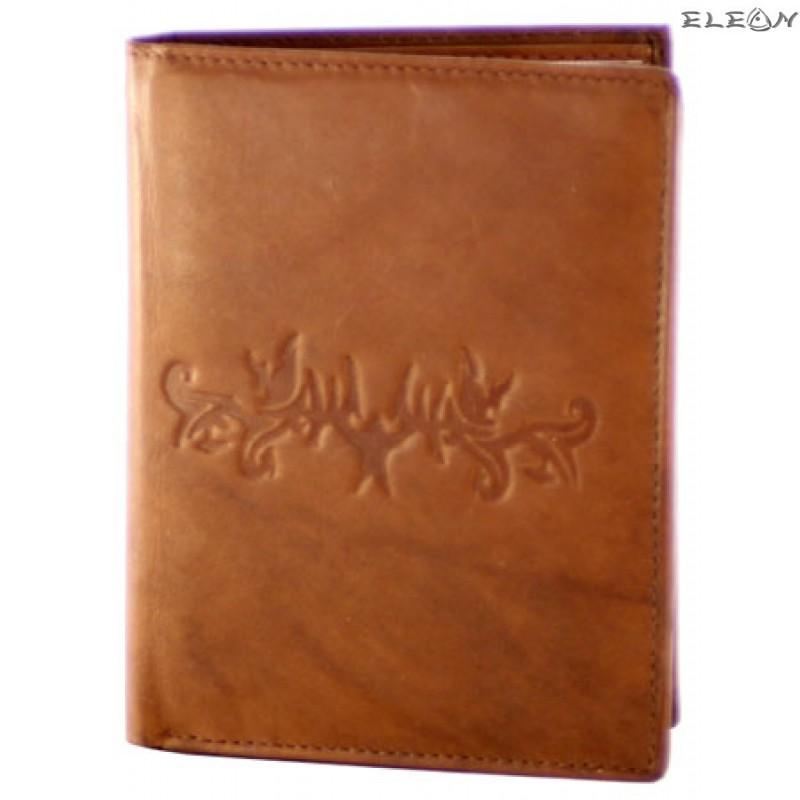 Портфейл унисекс от естествена кожа - 700112
