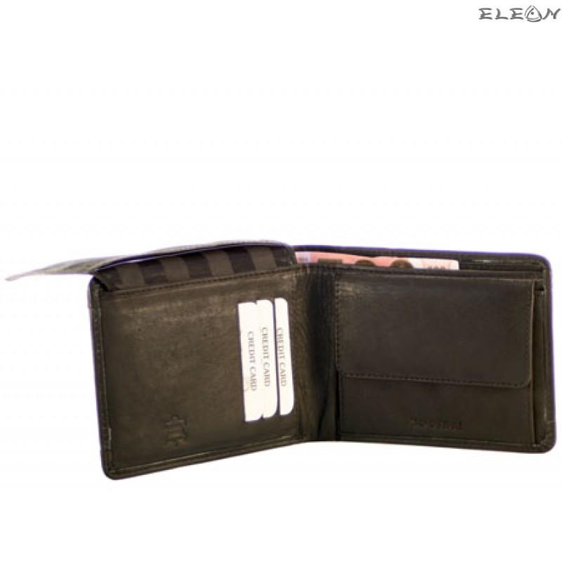 Портфейл унисекс от естествена кожа - 721001
