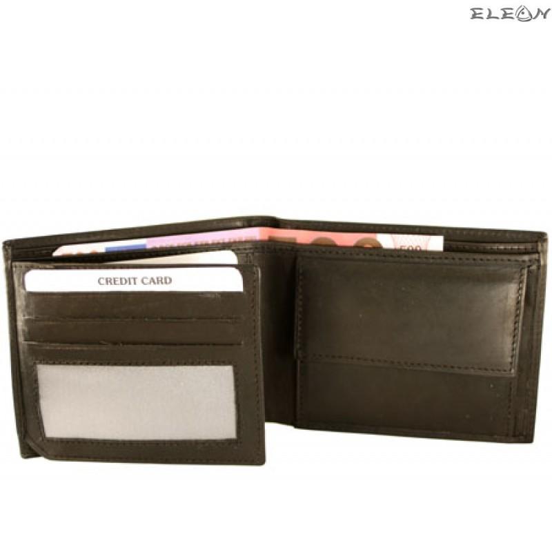 Портфейл унисекс от естествена кожа - 722001