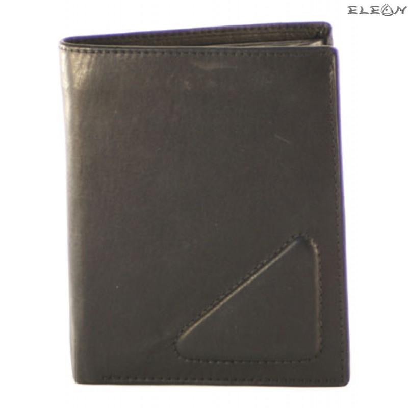 Портфейл унисекс от естествена кожа - 734001