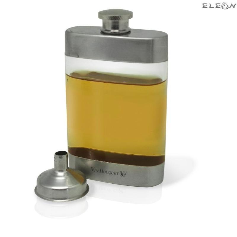 Бутилка за алкохол с фунийка