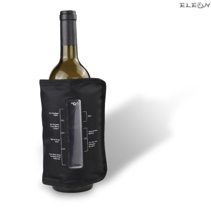 Охладител за бутилки с термометър