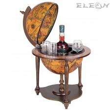 подарък Луксозен Бар глобус за офис, с отваряем капак - 60см DM-TE-33/N