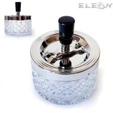 подарък Пепелник вятъроустойчив, d 9см, h 11см, стъклен настолен пепелник 022327 ZP 022327
