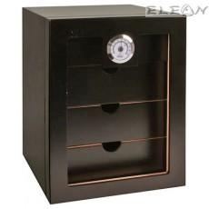 Хумидор лукс на 4 нива, премиум Кутия за пури 60бр, черен, Hadson 009473