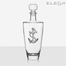 Кристално шише за уиски - котва