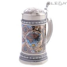 Керамична халба за бира - 0.5 l