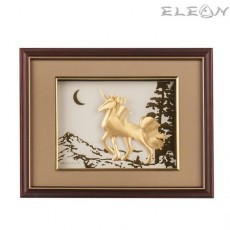 Златна картина ЕДНОРОГ ORH21 - 24карата