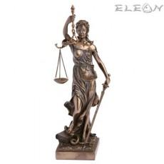 Статуетка Темида бронз, изработена от полирезин - Veronese