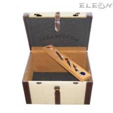 Стилна кутия за съхранение на вино с 6 броя аксесоари за вино