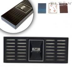 Овлажнител за хумидор, двоен, черен, Angelo 921080