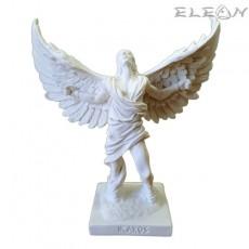 Статуетка Икар от алабастър, 16см, ръчно изработена скулптура, ArtosStyle S4213