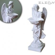 Статуетка АНГЕЛ пазител от алабастър, 23см, ръчно изработена скулптура, ArtosStyle S5601