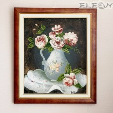 Картина за стена с рамка - РОЗИ, 65х75см, масло, авторска, Лорета Арт