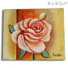 Картина за стена Роза, 60х50см, Цветя 05, Маслени бои, Авторска, Лорета Арт