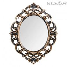 Овално Винтидж Огледало за стена, 30x40, бронз