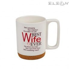 Чаша за кафе и чай, 350 мл, Lancaster - Чаша за Съпруга
