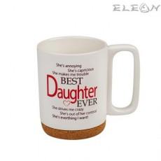 Чаша за кафе и чай, 350 мл, Lancaster - Чаша за Дъщеря