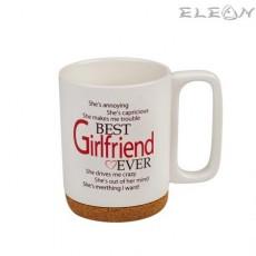 Чаша за кафе и чай, 350 мл, Lancaster - Чаша за Любимата