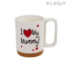 Чаша за кафе и чай, 350 мл, Lancaster - I Love My Mummy