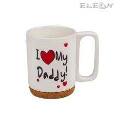Чаша за кафе и чай, 350 мл, Lancaster - I Love My Daddy
