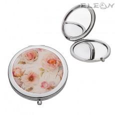 Дамско огледалце за чанта - джобно огледало РОЗИ 950145