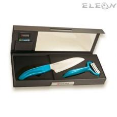 Комплект керамичен нож с белачка - KYOCERA
