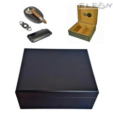 Хумидор сет 6 броя аксесоари за пури, подаръчен комплект кутия за пури с аксесоари, Angelo 920300