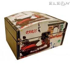 Дървена кутия за бижута - Paris 97721