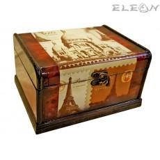 Кутия за бижута от дърво 97741 - Paris postale