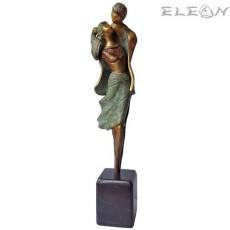 Статуетка от бронз 202 - СВАТБА 30см