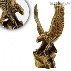 Авторска Статуетка Орел, бронзова миниатюра, 12см, 440гр, Mario Art 1106
